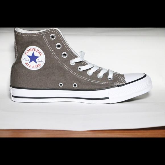 f8024e02ea06 Converse Classic Gray Grey All Star High Tops